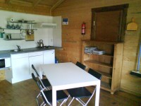 Carpers Cabin - Kitchen